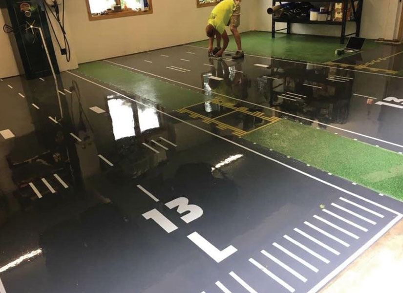 epoxy garage floors vernon nj