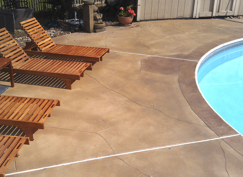 exterior concrete pool decks sussex nj