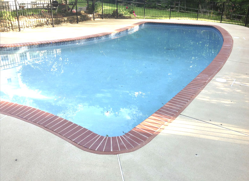 exterior concrete pool decks wantage nj