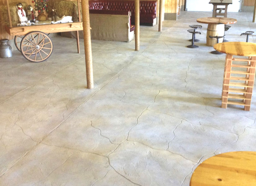 interior concrete decorative overlays vernon nj