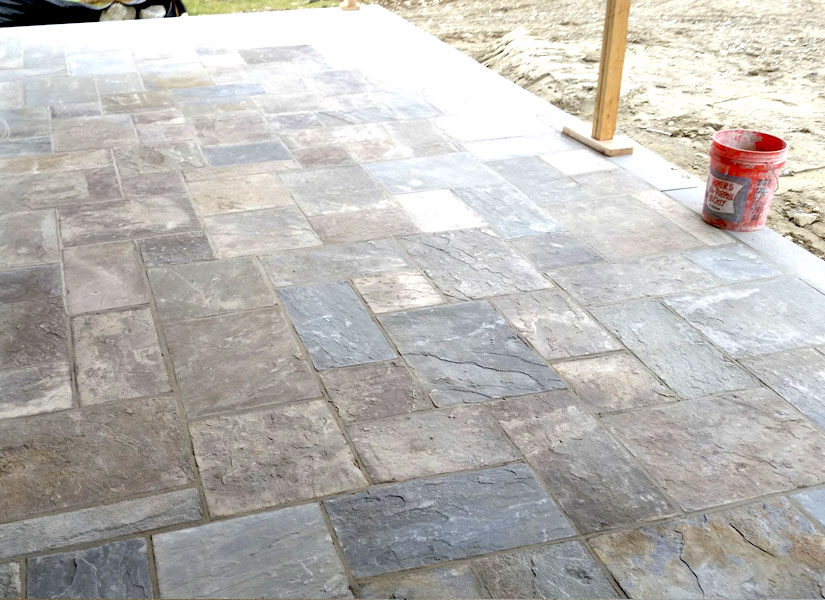 stamped concrete patio installation vernon nj